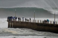 Durban South Africa storm