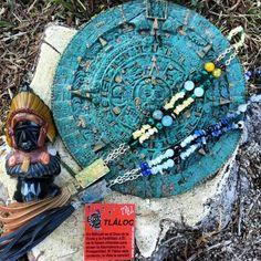La #Mágia de los #Dioses #Aztecas en #Colección #Tláloc de #ArtAbalori #OtoñoInvierno