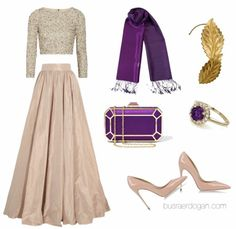 Dressy Dresses, Modest Outfits, Classy Outfits, Beautiful Outfits, Dress Outfits, Muslim Fashion, Hijab Fashion, Hijab Trends, Modelos Fashion