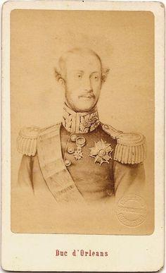 Luis, duque de Nemours - pai do Conde d´Eu