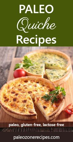 "Paleo Quiche Recipes and Instructions for Almond and Coconut Flour Crust <a href=""http://www.paleozonerecipes.com/paleo-dinner-recipes/paleo-quiche-recipes"" rel=""nofollow"" target=""_blank"">www.paleozonereci...</a> <a class=""pintag"" href=""/explore/paleo/"" title=""#paleo explore Pinterest"">#paleo</a>"