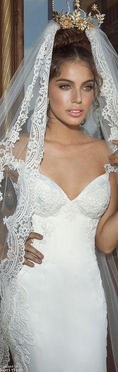 Galia Lahav Bridal - The Empress Collection, I love this because she looks like an a Italian bride