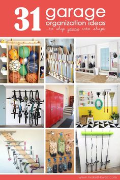 Beautiful  Garage Organization Ideas uto whip yours into SHAPE Make It and Love It