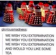 Dalek Christmas carol?!? What madness is this?