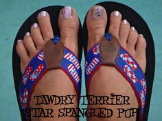 "@TawdryTerrier ""Star Spangled Pup"" - 1 bottle available at https://www.etsy.com/shop/TawdryTerrier #nailpolish #tawdryterrier #indienailpolish #fourthofjuly #independenceday"