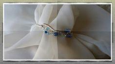 Sterling/Swarovski Crystal Cuff