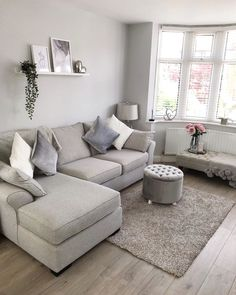 Cosy Living Room, Room Inspiration, Home Living Room, Apartment Decor, Living Room Decor Apartment, Small Living Rooms, Living Room Grey, Living Room Decor Gray, Room