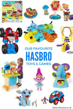 What are our favourite toys and games from Hasbro? Click here to find out: http://withlovefromlou.co.uk/2017/04/hasbro-toys-games/