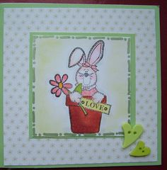 Made on holidays with free Nitwit stamp from Simply Cards & Papercraft