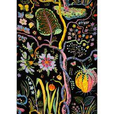Originale Josef Frank tessuto 100% lino. Questo tessuto di lino è di peso più pesante ed è perfettamente adatto per tende da cucina, federe, tappezzerie,