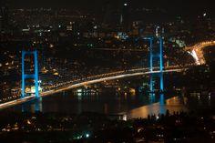 gece boğüaz köprüsü