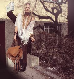 Fanny Lyckmann Hippie Style, Hippie Boho, Bohemian, Topshop Tops, Hipster Fashion, Boho Outfits, Fashion Watches, Spring Summer Fashion, Passion For Fashion
