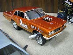GTO or Tempest altered wheelbase A/FX-Funny Car