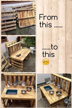 Most recent No Cost backyard kids mud kitchen Strategies : If you have young children, you already know that having something so that they can accomplish will be important. Outdoor Play Kitchen, Diy Mud Kitchen, Mud Kitchen For Kids, Kids Outdoor Play, Outdoor Play Areas, Kids Play Area, Backyard For Kids, Backyard Kitchen, Garden Kids