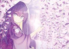 girl of cherry blossom anime Anime Chibi, Kawaii Anime, Anime Manga, Anime Art, Anime Girl Kimono, Manga Girl, Anime Girls, Beautiful Anime Girl, I Love Anime