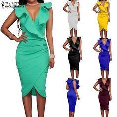 UK 8-24 Women Front Button Long Sleeve Floral Print Mini Dress Loose Party Dress