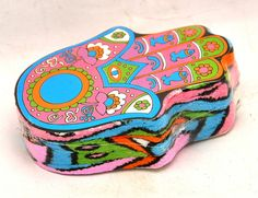 Compressed Multipurpose Hamsa Hand Towel Fabric
