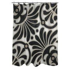 Thumbprintz Moroccan Symbol III Shower Curtain