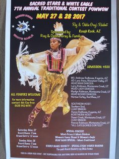 Sacred Star & White Eagle 7th Annual Traditional Contest Pow Wow