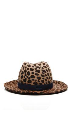 Nomad Printed Felt Hat by Yestadt Millinery - Moda Operandi