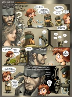 solid snake and meryl part 1