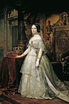 1844 Federico de Madrazo y Kuntz - Isabel II