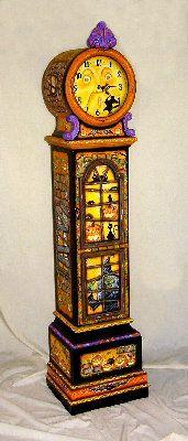 Spookylvania Halloween Collectible Pendulum Clock #16