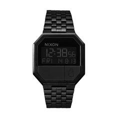 Relógio NIXON Re-Run - A158-001   Bluebird Nixon Watches, All Black 6b8ca50756