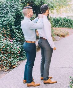 big butts Gay in suits men with
