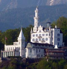 Schloss Gütsch, Luzern, Switzerland