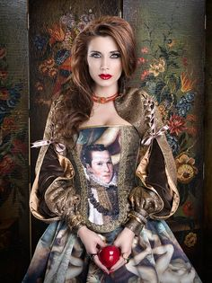 Once upon a time by Rebeca Saray Gude, via Behance