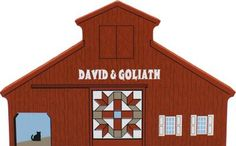 David & Goliath Quilt Barn | The Cat's Meow Village
