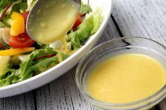Mézes-mustáros saláta öntet