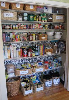 Food Pantry Organization