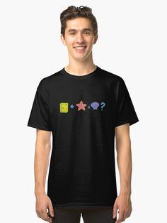 Sponge + Starfish = Clam? Classic T-Shirt