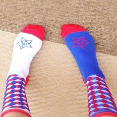 La Cubiste socks - Team Yacht Club X The Athletic cycling socks.