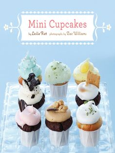 Bake cupcakes in little paper cups for extra mini cupcakes!
