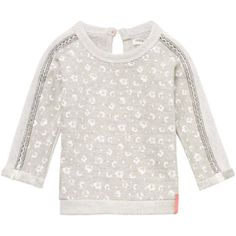 Noppies Grey Abstract Sweatshirt - Tiny Trendsetter - 1