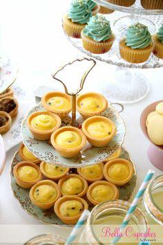 Lemon Passionfruit Tartletts