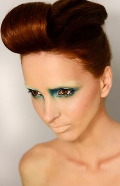 Photography: Uanna Dumitrescu (uannart.wordpress.com) Model: Simona Neacsu Hair & Make-up: Irina Cajvaneanu (IrinaCajvaneanuMakeUp) MUA Irina Cajvaneanu sends in her latest stunning conceptual green themed beauty story featuring model Simona Neacsu…