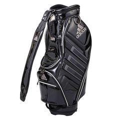 ccb7e9ae3342 adidas Golf TOUR 360 Caddie Bag Golf Club Black 5 Ways Driver 9.5