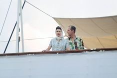 For once, Queen Elizabeth II didn't wear her usual gloves (don't miss these secrets behind the queen's gloves). She and Prince Philip looked ready for some sun on their way to Fiji for a visit to the South Pacific in 1977.