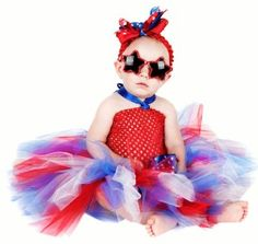 4th of July tutu that can easily be made.. LOVE this #redwhitebgosh