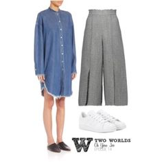 W-Two Worlds - Oh Yeon Joo (Episode 14) Chic Outfits, Inspired Outfits, W Two Worlds, Second World, Polyvore, Pants, Fashion, Trousers, Fashion Styles