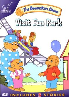 The Berenstain Bears - Visit Fun Park (Also includes 4 Aditional Episodes - Go to the Movies / Gotta Dance / White Water Adventure / Papa's Pizza