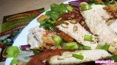 Sałatka z kurczakiem i grzankami Tortellini, Cobb Salad, Feta, Cheese