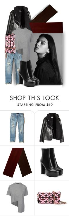"""""""Working casual"""" by nino-d-f ❤ liked on Polyvore featuring Hollister Co., H&M, Hermès, Alexander Wang and Coach"""