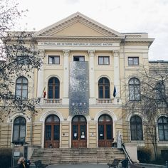 One of the most visited museums in Bucharest, located in this old building.