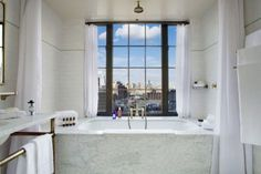 The Bowery Hotel, winner of the Fodor's 100 Hotel Awards for the Clubby Atmosphere category #travel