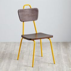 We're sweet on the retro design of our Candy Stick Play Chairs.  The powder coated candy color iron frame blends perfectly with the solid mango wood seat and back, giving it the perfect blend of old school and new school.